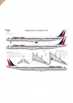 Philipppine Airlines - Douglas DC-8-63