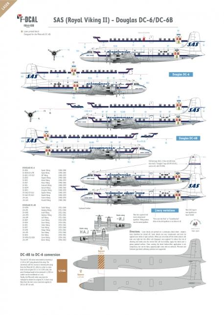 SAS - Douglas DC-6/DC-6B (Royal Viking II)