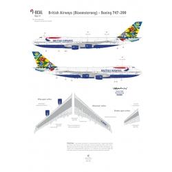 British Airways (Bloomsterang) - Boeing 747-200