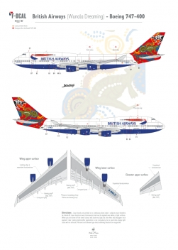 British Airways (Wunala Dreaming) - Boeing 747-400