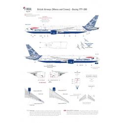 British Airways (Waves and Cranes) - Boeing 777-200