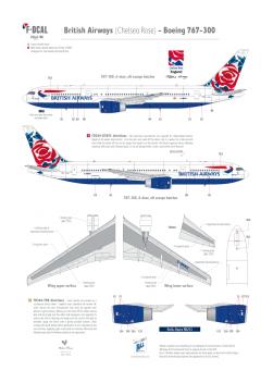 Britiish Airways (Chelsea Rose) - Boeing 767-300