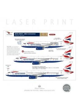 British Airways (Union Flag) - Airbus A319/320/321