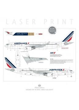 Air France (Barcode 2009) - Airbus A330-200