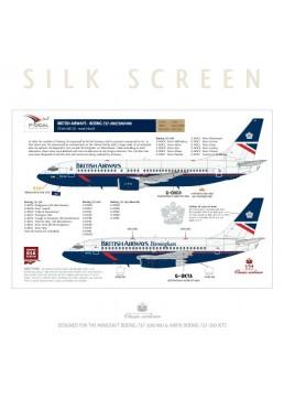 British Airways (Landor) - Boeing 737-200/300/400