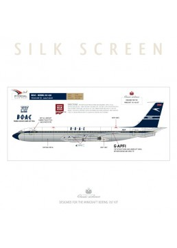 BOAC (Delivery scheme) - Boeing 707-336/346