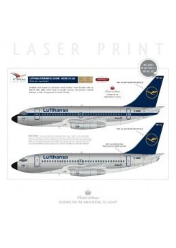 Lufthansa - Boeing 737-200