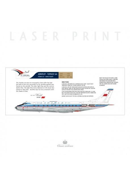 Aeroflot (o/c) - Tu124