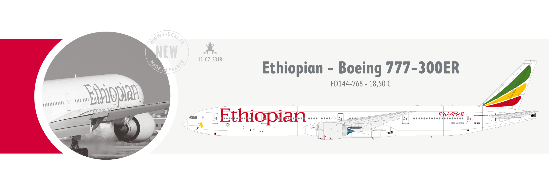 Ethiopian 777-300